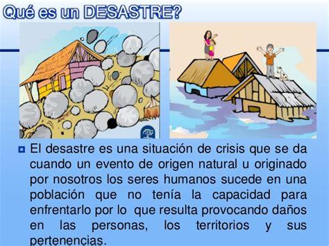 Aprendiendo a prevenir desastres   Programa para Escuelas ...