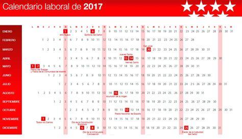 Aprobado el calendario laboral de 2017: el 20 de marzo ...