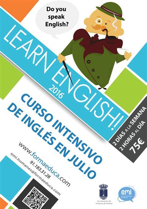 Apúntate al Curso Intensivo de Inglés en julio ...