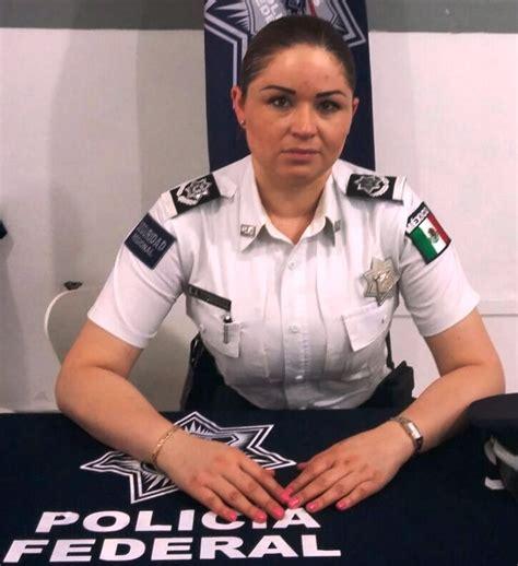 Araceli Navarro es la coordinadora de la Policía Federal ...