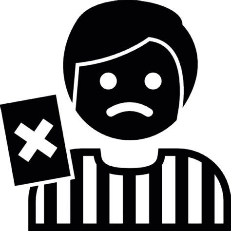 árbitro de fútbol llamando falta | Descargar Iconos gratis