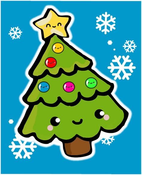 árbol de navidad | gabbyriches kawaii | Pinterest ...