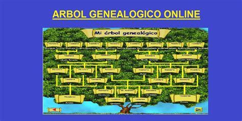 Arbol Genealogico Online ¡Crea tu Arbol Genealogico Gratis!