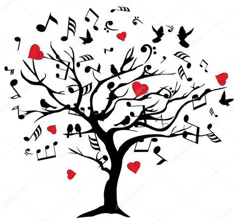 árbol musical Vector — Vector de stock © lilac-design ...