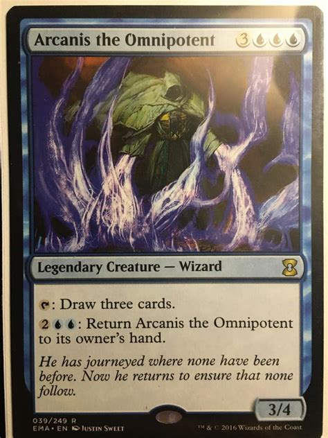 Arcanis the Omnipotent EDH Deck Tech   MTG Amino