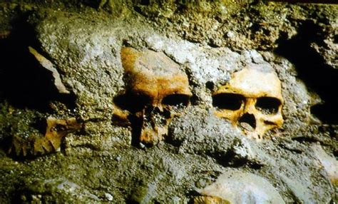 Archaeologists unearth Aztec human skull trophy rack in ...
