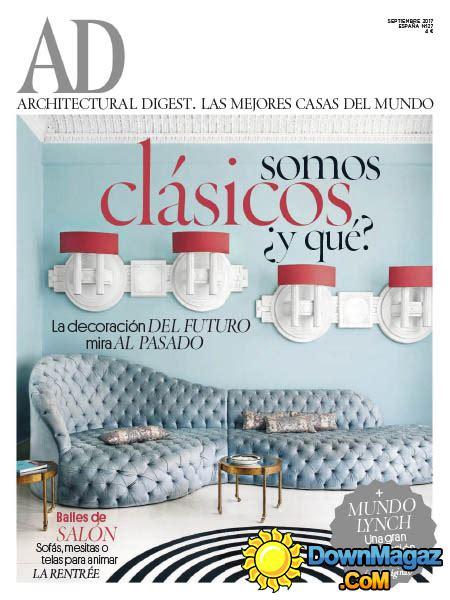 Architectural Digest Spain   09.2017 » Download Spanish ...