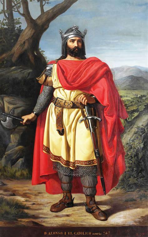 Archivo:Alfonso I el Católico, rey de Asturias  Museo del ...