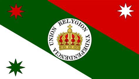 Archivo:Bandera del Regimiento del Generalísimo Iturbide ...