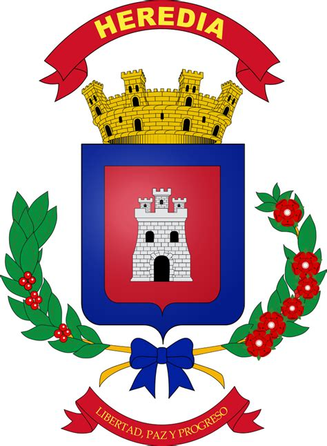 Archivo:Coat of arms of Heredia.svg   Wikipedia, la ...