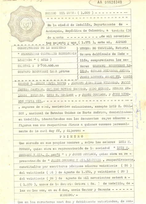 Archivo:Escritura Constitucion Sociedad Aces 01.jpg ...