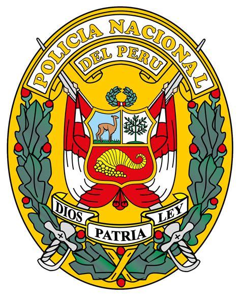 Archivo:Escudo de la Policía Nacional del Perú.png ...