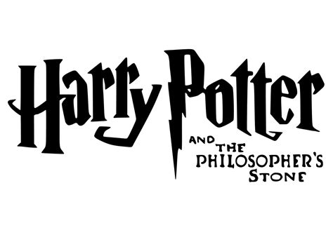 Archivo:Harry potter and the sorcerers stone logo.svg ...