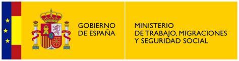Archivo:Logotipo del Ministerio de Trabajo, Migraciones y ...