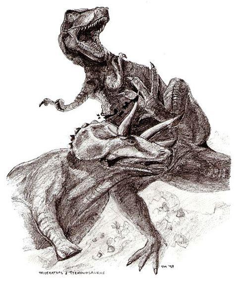 Archivo:Triceratops tyrannosaurus.jpg - Wikipedia, la ...