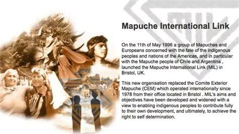 Archivos de Politica y Desarrollo: THE MAPUCHE NATION, EL ...