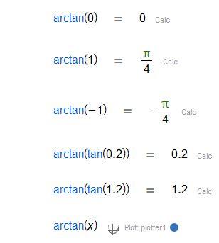 Arctangent [CalcMe]