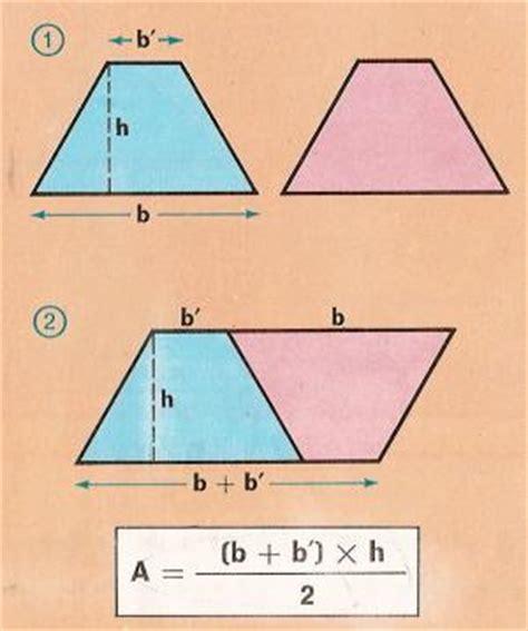 Área del rombo y trapecio, Geometría plana de Aplicaciones ...