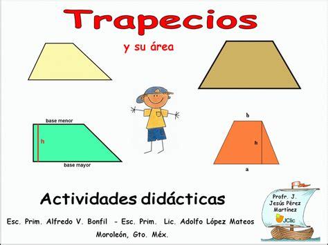 Área del trapecio 5° y 6° grado   Plan Ceibal | JClic ...