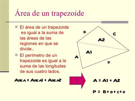 Área y perímetro de polígonos