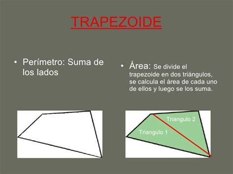 Areas y perímetros de los cuadriláteros