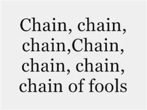 Aretha Franklin   Chain of Fools   Lyrics.   YouTube