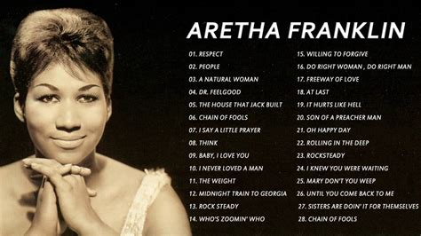 Aretha Franklin greatest hits collection   Best of Aretha ...