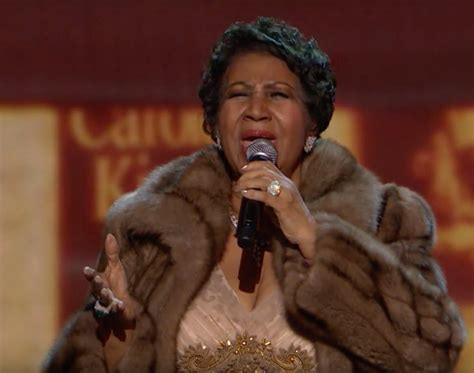 Aretha Franklin's Kennedy Center Honors performance  VIDEO .