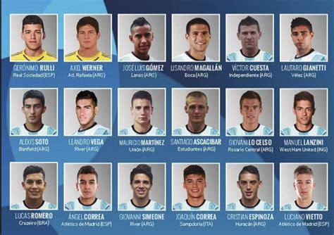 Argentina presentó lista de 18 jugadores Sub-23 que irán a ...