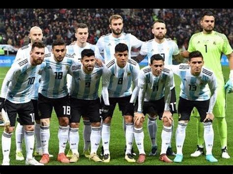 Argentina Team Squad 2018 Fifa World Cup | Argentina ...