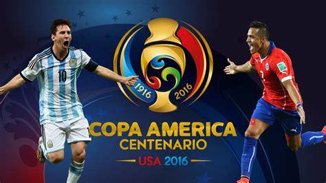 Argentina vs Chile | Copa America Centenario 2016 | Promo ...