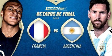 Argentina vs Francia EN VIVO por Mundial Rusia 2018 hoy ...