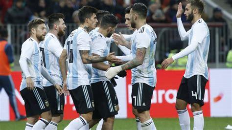 Argentina vs. Nigeria en Krasnodar: horario, formaciones y ...