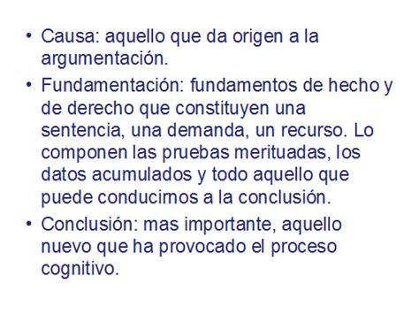 Argumentación jurídica - Monografias.com