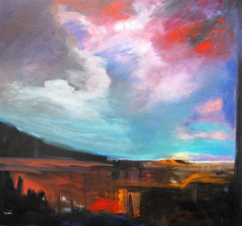 Arie Vardi great landscape Artist from Chile - The Global ...
