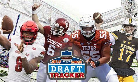 Arizona Cardinals 2018 Mock Draft Tracker