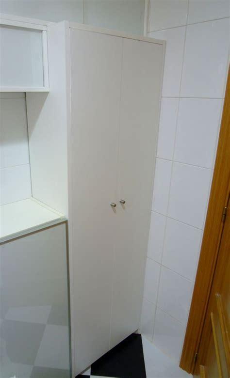 Armario escobero para cocina en Madrid. Ebanistería MK