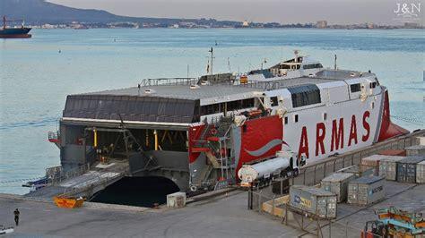 """Armas probará el """"Alborán"""" entre Tenerife y Las Palmas ..."""