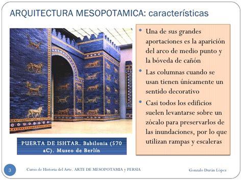 Arquitectura MesopotáMica Y Persa