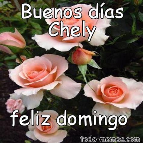 ArrayMeme de Buenos días Chely feliz domingo