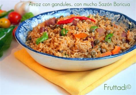 Arroz con gandules puertorriqueño | Sazón Boricua