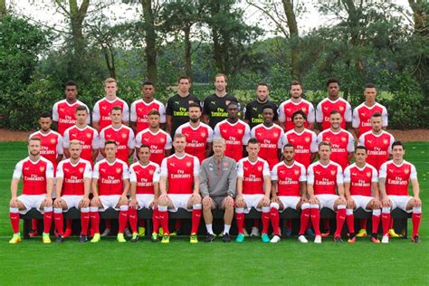 Arsenal Roster Players Squad 2017/2018 (17/18) And New ...