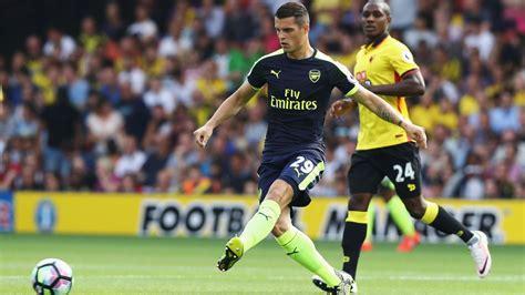 Arsenal s Alex Iwobi teaches Granit Xhaka and Rob Holding ...