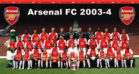 Arsenal's 2003/04 unbeaten season: From Premier League ...