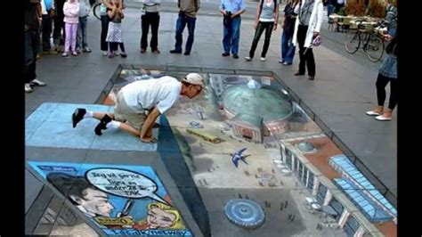 Arte Callejero Dibujos 3D Street Art 3D Drawings - YouTube