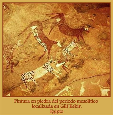 Arte de la Prehistoria. El Mesolitico | Historia del arte ...