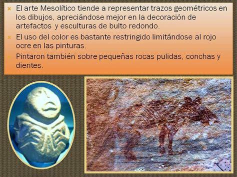 Arte del mesolitico. | Historia del arte en resumen