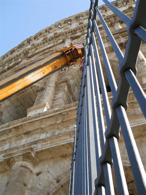 Arteferro Argentina | Restauro Colosseo: posizionate le ...
