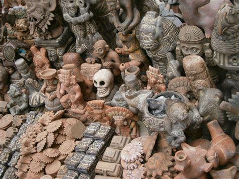 Artesanía Mexicana Piezas Aztecas o Mexicas | Mi Mexico ...