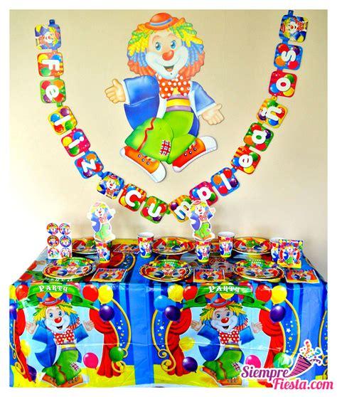 Artículos para fiesta de cumpleaños temática de Circo y ...